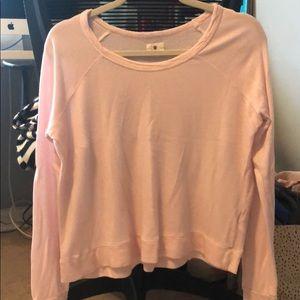 Sundry size 1 pink sweatshirt